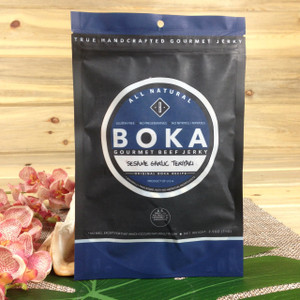 Guamanian Owned - BOKA Gourmet Beef Jerky - Sesame Garlic Teryiaki -2.5oz bag