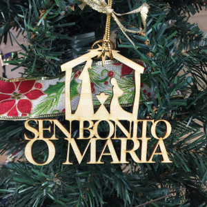 Sen Bonito O Maria - Guam and CNMI Chamorro Christmas Ornament