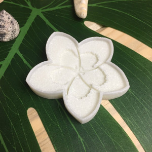 Tropical Plumeria Flower Resin Cookie Cutter Stamp