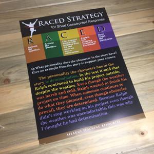 RACED Strategy Teacher Poster - 18x24