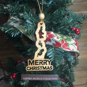 New! CNMI Islands Christmas Tree Ornament (Chamorro)