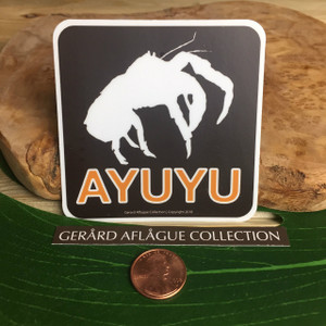 Ayuyu Coconut Crab Dope Decal