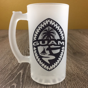 Tribal Guam Seal Frosted Mug