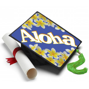 Aloha (Hawaii) Graduation Cap (Hat) Topper