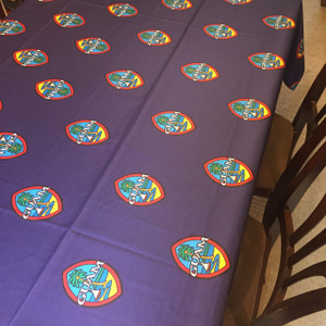 Modern Guam Seal Polyester Cloth Table Cover