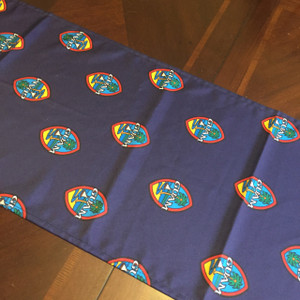 Guam Seal Polyester Cloth Table Runner - 14x90 Inches