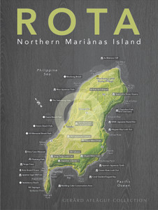 Detailed Map of the Island of Rota