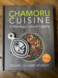 CHAMORU CUISINE - An award winning Guam and CNMI Cookbook and Handheld Tribal Guam Seal Coconut Grater
