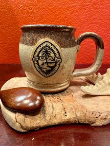 Tribal Guam Seal Cinnamon Coffee and Tea Mug