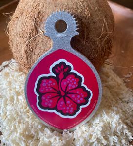 Ikamyu Hand-held Hibiscus Coconut Grater
