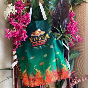 Fiesta Chef Light-Weight, Short-Cut Apron