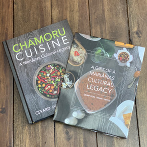 CHAMORU CUISINE Cookbook with Slipcase Gift Box by Gerard and Mary Aflague