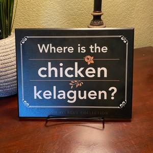 "Guam/CNMI Where is the Chicken Kelaguen Fine-Art Plaque - 8.4"" x 10.85"""