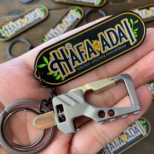 Quick Release Hafa Adai Midnight Black Die-Struck Key Chain