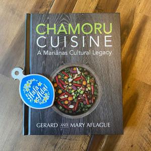 CHAMORU CUISINE Cookbook and Handheld Hafa Adai Coconut Grater