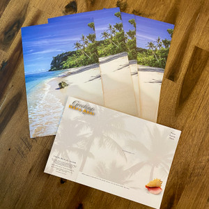 12-pk Large Two Lovers Point Guam Postcard - 6x9 inches
