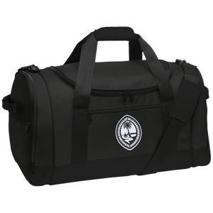 Tribal Guam Seal Embroidered Travel Sports Duffel