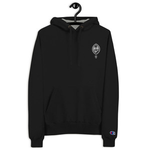 Embroidered Tribal Guam Seal Tribe Brand Champion Hoodie