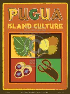 Pugua Island Culture Illustration