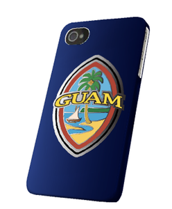 Modern Guam Seal Case for iPhone