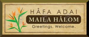 Gift Plaque - Hafa Adai - Maila Halom