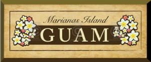 Gift Plaque - Marianas Island - GUAM