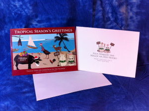 5x7 inch Greeting cards as shown (includes blank envelope)