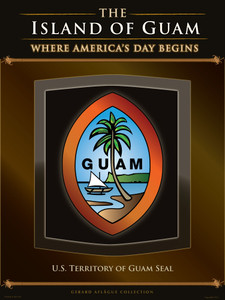 Illustration of the U.S. Territorial Seal of Guam - 18x24 inches