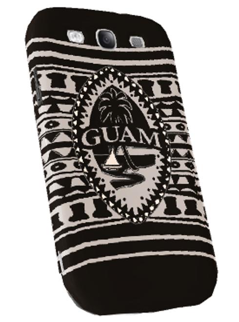 Samsung Galaxy Snap-On Case - Tribal Modern Guam Seal Motif