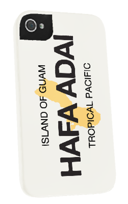 Hafa Adai License Plate iPhone Cover