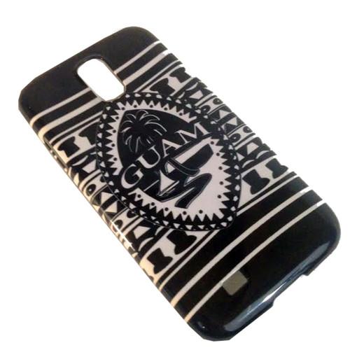 Samsung Galaxy S4 Snap-On Case - Tribal Modern Guam Seal Motif