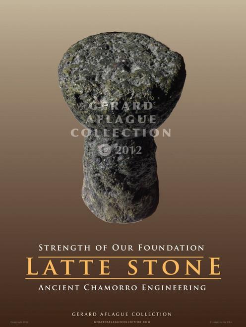 Latte Stone - 18x24 Illustration [FBO]