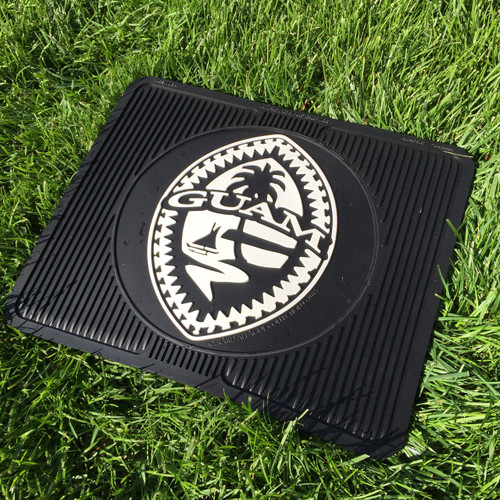 2-Piece Premium All-Weather Tribal Guam Seal Car and Truck Rear Mats