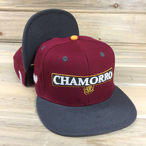 Adult Chamorro Snapback Tribe Brand Hat