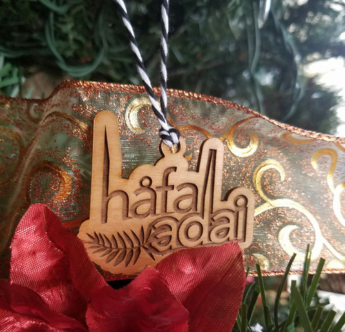 Chamorro Guam/CNMI Hafa Adai Christmas Tree Ornament