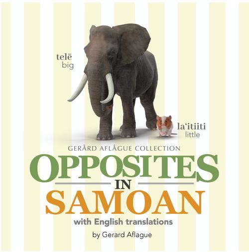 Opposites in Samoan Children's Book