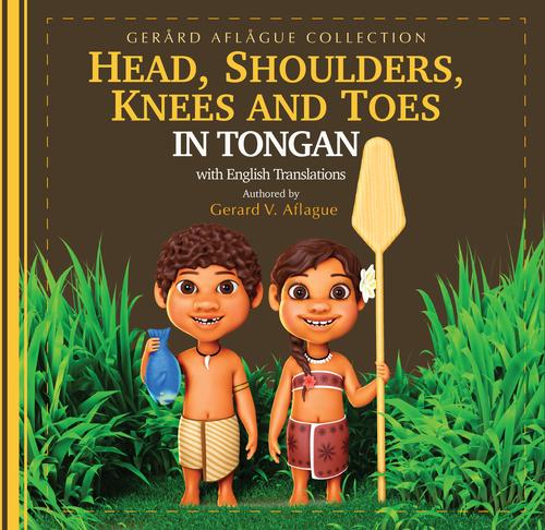 Head, Shoulders, Knees, and Toes in Tongan Children's Book