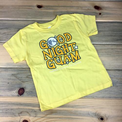 Good Night Guam Yellow Childrens Toddler T-Shirt