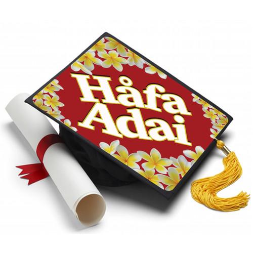 Hafa Adai Graduation Cap Topper