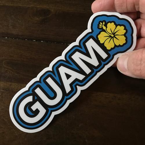 """Hibiscus Guam Dope Decals - 4"""""""