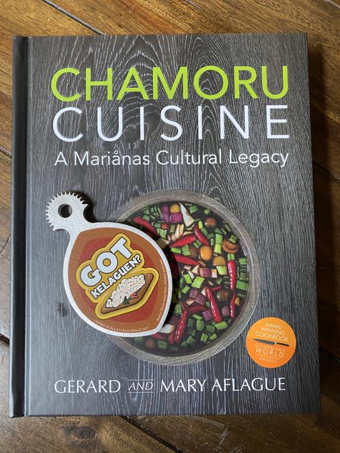 CHAMORU CUISINE - An award winning Guam and CNMI Cookbook and Handheld Got Kelaguen Coconut Grater
