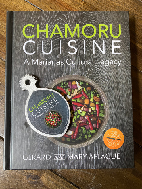 CHAMORU CUISINE - An award winning Guam and CNMI Cookbook and Handheld Coconut Grater