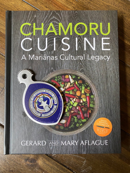 CHAMORU CUISINE - An award winning Guam and CNMI Cookbook and Handheld CNMI Coconut Grater