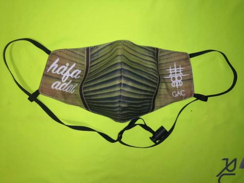 Hafa Adai Banana Leaf Face Mask (Guam and CNMI)