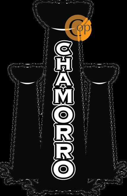 Chamorro in Latte Stones Cut Vinyl(Guam, Rota, Tinian, and Saipan)