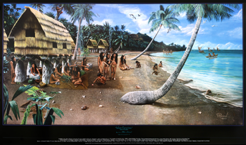 Islan Para Isu Fine-Art Poster - by Blu Rivard