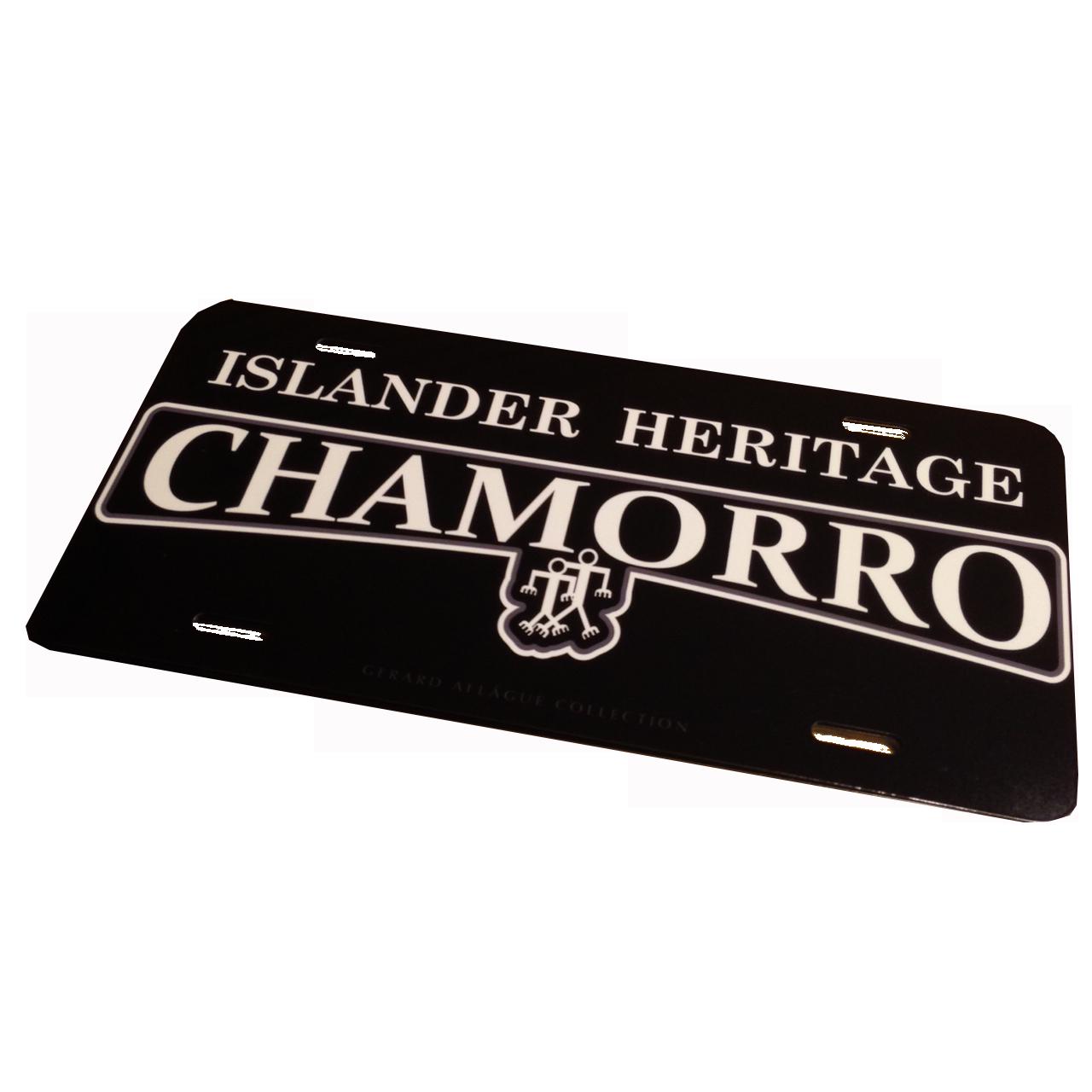 Chamorro Islander Heritage License Plate 6 X 12