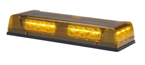 Whelen Responder R1LPPA LED Lightbar Warning Light Amber for Construction  w/ Perm Mount