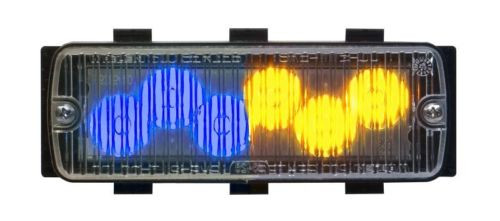 • TIR6 Super-LED Series modules with Clear outer lenses  • Available in  Red, Blue, Yellow, or Clear