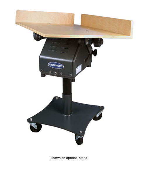 "Challenge Machinery Combination Flat/Tilt Paper Jogger base with 28"" X 40"" table (Model 2840A)"